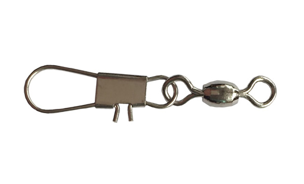 Crane swivel with interlock snap fishing tackle accessories