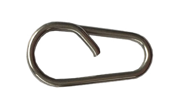 Bent Head Oval Split Ring Fishing Ring